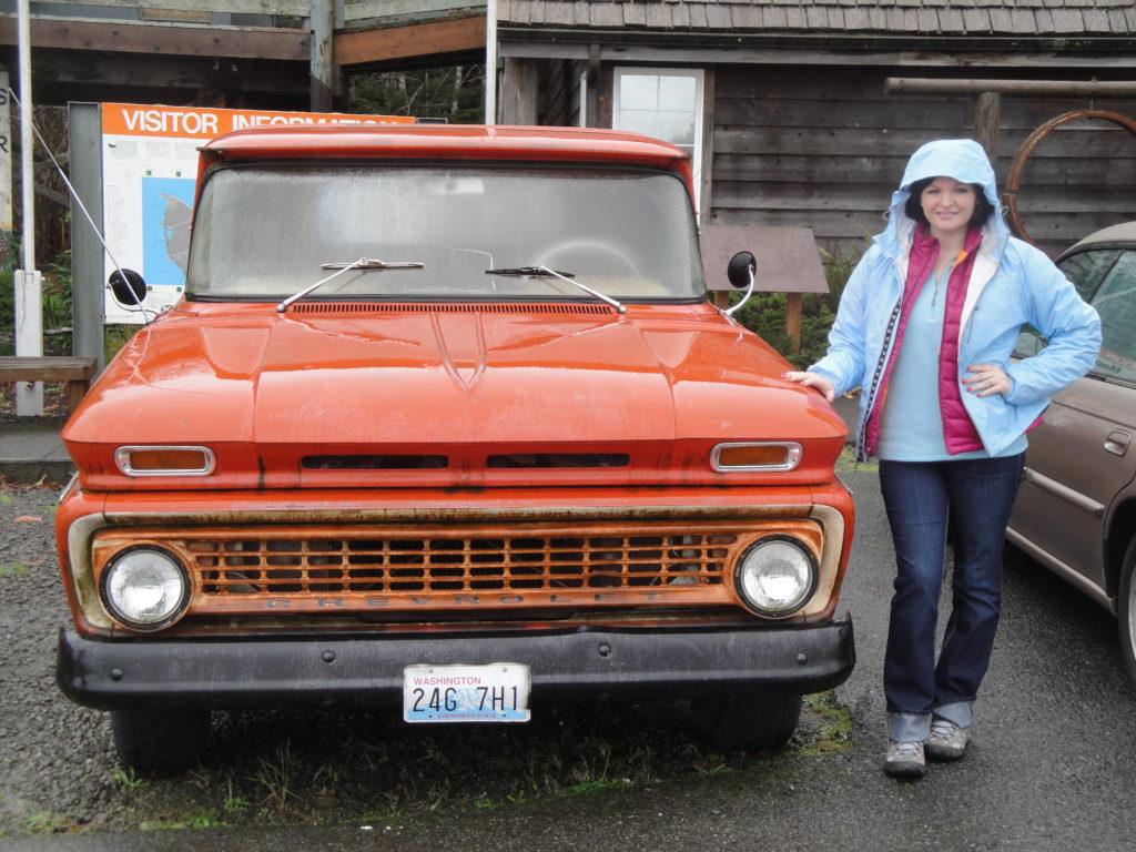 Bella's truck!