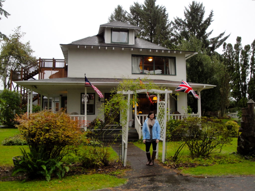 The Cullens' house (also where we spent the night!)