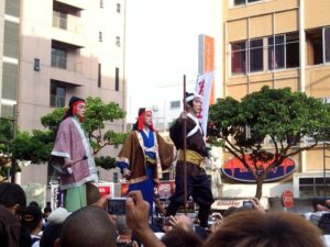 Naha Tug of War Festival lasts 3 days and has roots dating back 600 years.