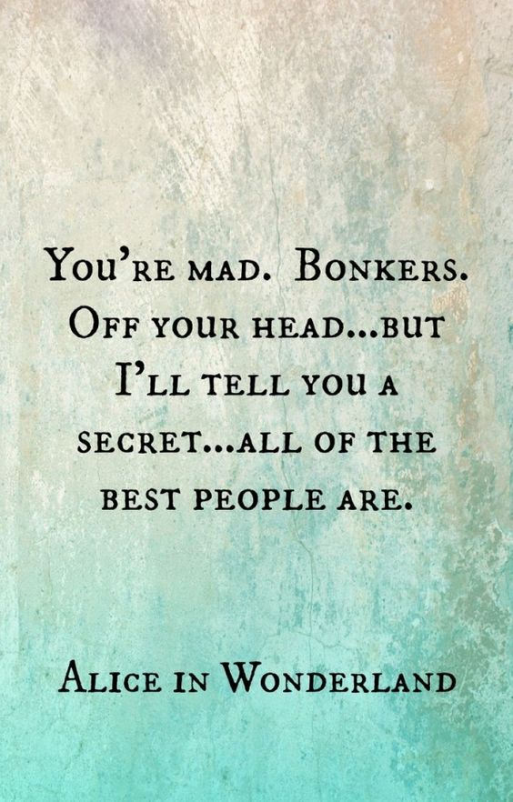 Disney Alice in Wonderland Quote