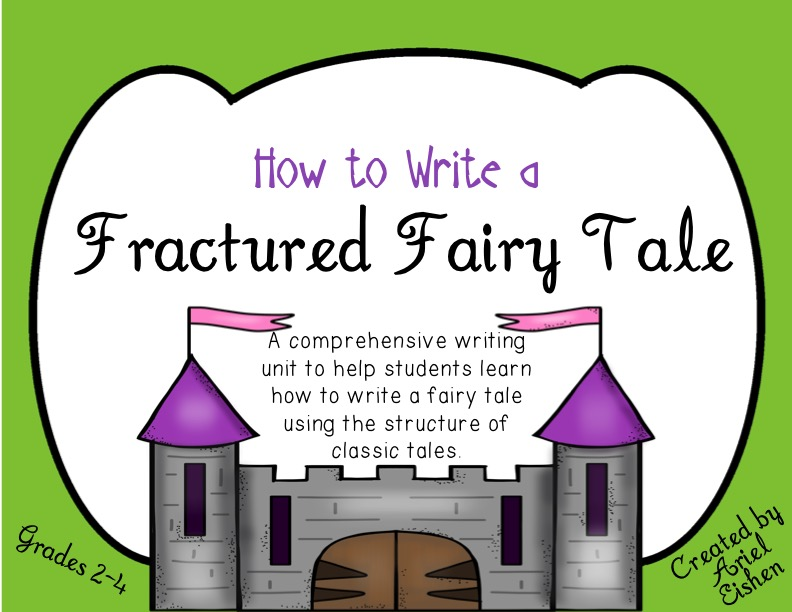 fractured fairy tales writing unit my life in verbs. Black Bedroom Furniture Sets. Home Design Ideas